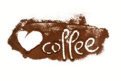 Ich liebe Kaffee Lizenzfreie Stockfotografie