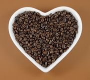 Ich liebe Kaffee Stockfotografie