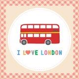 Ich liebe London8 Stockfotos