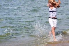 Ich liebe Meer! Lizenzfreies Stockbild