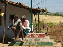 Ich liebe mein Indien - indische Landschaft Lizenzfreies Stockbild