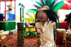 Ich liebe Mexiko-Museum lizenzfreie stockbilder