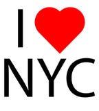 Ich liebe NYC lizenzfreie stockfotografie