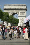 Ich liebe Paris stockfoto