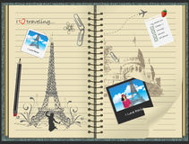 Ich liebe Paris Stockbilder