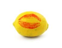Ich liebe Zitronen Stockfoto