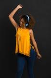 Ich liebe zu tanzen Stockbild