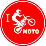 Ich mag Motorrad Lizenzfreies Stockfoto