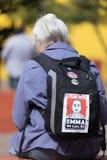 Ich stehe mit EMMA Wir rufen BS an Lizenzfreie Stockbilder