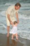 Ich und Großvater Lizenzfreies Stockbild