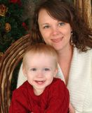 Ich und Mutter Lizenzfreie Stockfotografie