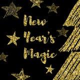 Ich wünsche Ihnen frohen Weihnachten und ein guten Rutsch ins Neue Jahr Stockfotos