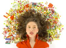 Ich wünsche Süßigkeit stockbilder