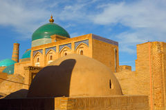 Ichan-Kala, Khiva, Uzbekistan. Old city. Royalty Free Stock Photography