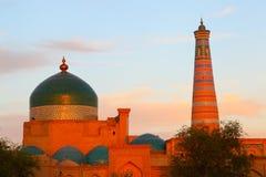 Ichan-Kala, Khiva, Uzbekistan. Old city. Stock Photo