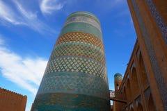 Ichang-Kala, Khiva, Uzbekistan. Old city. Stock Photos