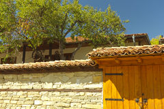 Ichera. Interesting house in old architectural style in Ichera village in Bulgaria Stock Images