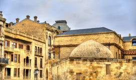 Icheri Sheher, the Old Town of Baku Stock Images