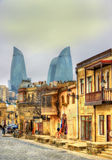 Icheri Sheher, the Old Town of Baku. Azerbaijan royalty free stock images