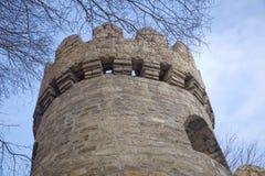 Icheri sheher w Baku Azerbejdżan Brama stary forteca, wejście Baku stary miasteczko Baku, Azerbejdżan Ściany Stary miasto ja Zdjęcie Stock