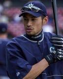 Ichiro Suzuki, de Zeelieden van Seattle Royalty-vrije Stock Afbeelding