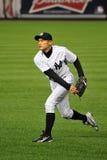 Ichiro Suzuki que joga da parte exterior do campo Foto de Stock Royalty Free