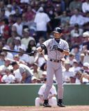 Ichiro Suzuki. Seattle Mariners star centerfielder Ichiro Suzuki. Image taken from color slide stock photography