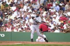 Ichiro Suzuki. Seattle Mariners star centerfielder Ichiro Suzuki. Image taken from color slide royalty free stock photos