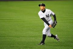 Ichiro Suzuki som kastar övning royaltyfri foto