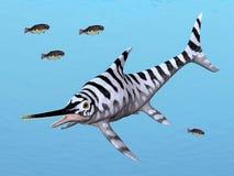 Ichthyosaur Eurhinosaurus royalty ilustracja