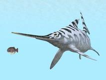 Ichthyosaur Eurhinosaurus Royalty Free Stock Photos