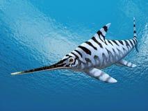 Ichthyosaur Eurhinosaurus Stock Image