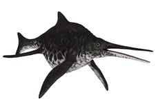 Ichthyosaur Shonisaurus Zdjęcia Stock