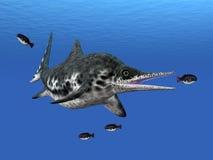 Ichthyosaur Stenopterygius Stock Images