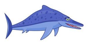 Ichthyosaurus динозавра шаржа Стоковая Фотография