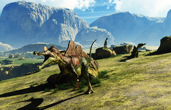 Ichthyovenator-Dinosaurier Lizenzfreies Stockbild