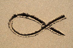 Ichthys symbol. Stock Images
