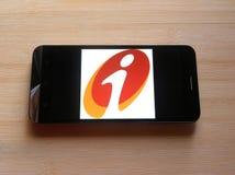 ICICI Bank app stock foto's