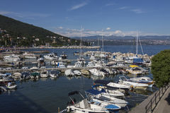 Icici - Istria半岛-克罗地亚 免版税库存照片