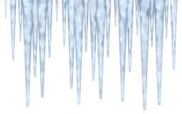 icicle граници Стоковые Фотографии RF