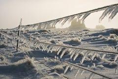 icicle загородки Стоковые Фото