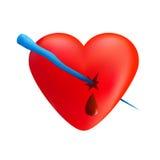 icicle сердца иллюстрация штока