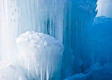 ясный icicle образования Стоковые Изображения