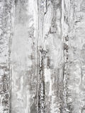 Icicle background Stock Photo