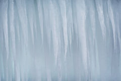 An Icicle Background Stock Images