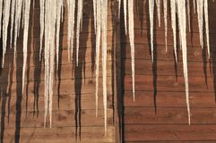 Icicle Crystals Stock Photography