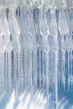 Icicle decoration Stock Photo