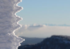 Icicle formation Royalty Free Stock Photo
