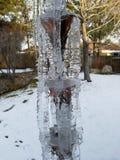 icicle rain chain Stock Photo