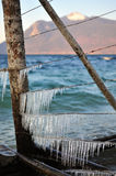 Icicle Strings Stock Images